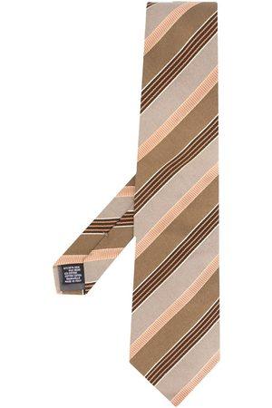 Gianfranco Ferré Slips med diagonala ränder från 1990-talet