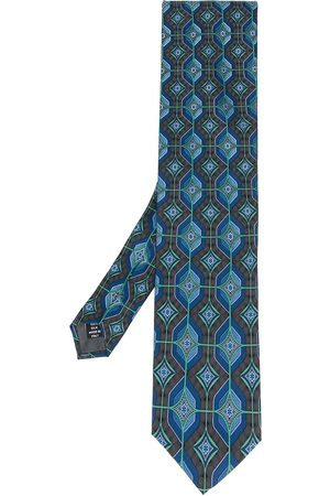 Gianfranco Ferré Pre-Owned Geometriskt mönstrad slips från 1990