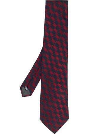 Gianfranco Ferré Geometriskt mönstrad slips från 1990