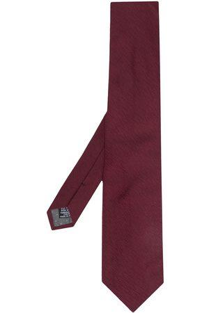 Gianfranco Ferré Man Slipsar - Sicksackmönstrad slips från 1990