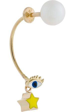 DELFINA DELETTREZ 18kt gold Eye Piercing earring
