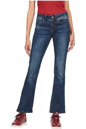 G-Star D01896 6553 L.32 Midge Bootcut Jeans Women Denim Medium Blue