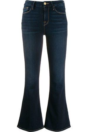 Frame Kvinna Boots - Le Crop korta jeans i boot-modell