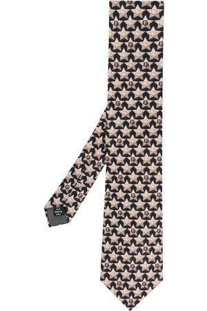 Gianfranco Ferré Stjärnmönstrad slips från 1990