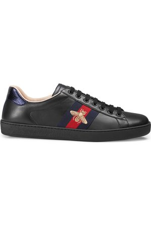 Gucci Man Sneakers - Men's Ace embroidered sneaker