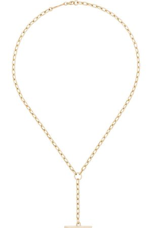 Zoe Chicco 14kt gold link bar necklace