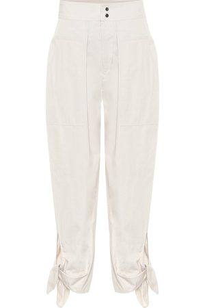 Isabel Marant Gaviao high-rise cotton pants