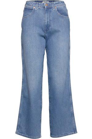 Wrangler Mom Relaxed Vida Jeans Blå