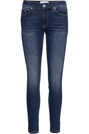 Calvin Klein Kvinna Skinny - Ckj 011 Mid Rise Ski Skinny Jeans