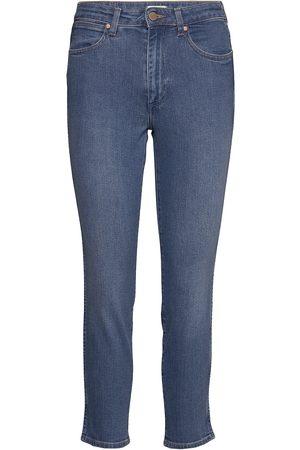 Wrangler Retro Skinny Skinny Jeans Blå