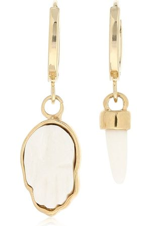 Isabel Marant Hoop Earrings W/ Mismatched Charms