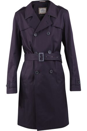HERNO Belted cotton trench coat