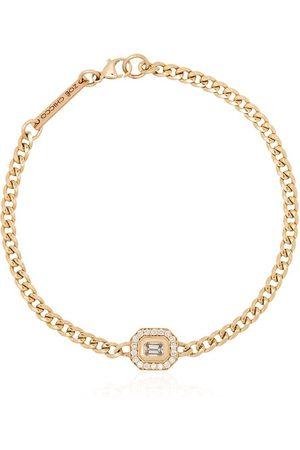 Zoe Chicco Diamantarmband i 14K gult guld