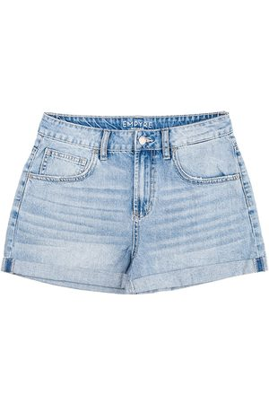 Empyre Kvinna Shorts - Melanie Mum Shorts lt washed