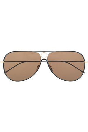 Thom Browne Man Solglasögon - TBS115 aviator-frame sunglasses