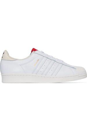 adidas X 424 white Superstar lädersneakers