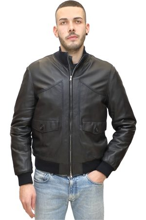 Jeckerson Inner quilted leather bomber