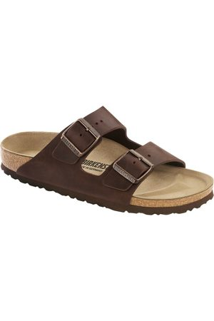 Birkenstock Sandaler - Arizona Oiled Leather Slim