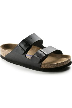 Birkenstock Sandaler - Arizona Birko-Flor Soft Footbed Slim