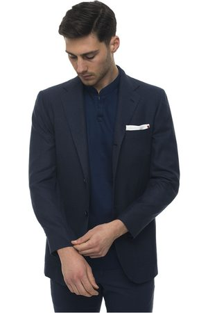 Kiton Deconstructed-unlined blazer with 3 buttons