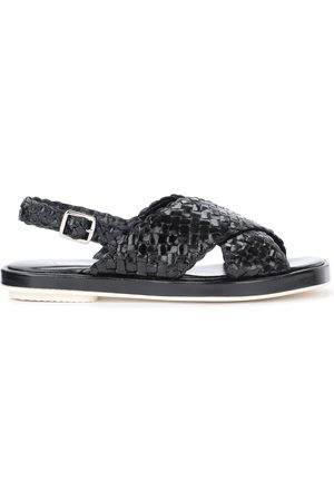 Pon´s quintana Malena sandal in woven leather