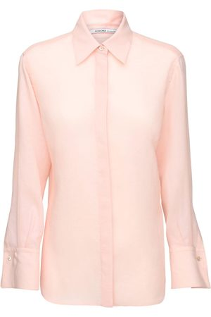 Agnona Mohair Blend Straight Shirt