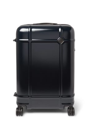 Fabbrica Pelletterie Globe Spinner 68cm Leather-Trimmed Polycarbonate Suitcase