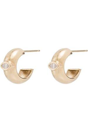 Zoe Chicco Diamantörhängen i 14K guld