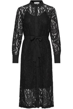 Rosemunde Dress Ls Knälång Klänning