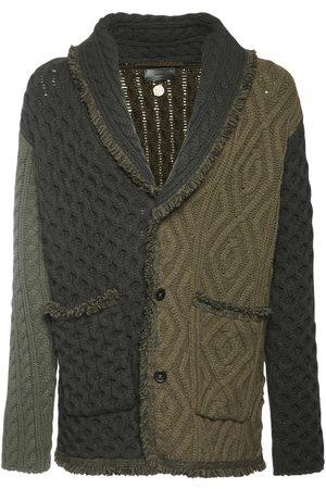 Alanui Woodland Wool & Cashmere Cardigan