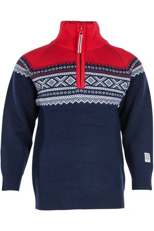 Marius Kids Stickade tröjor - Kids Wool Sweater with Zip