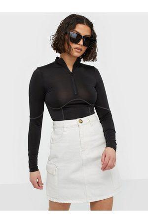 Gina Tricot Cargo Denim Skirt Minikjolar