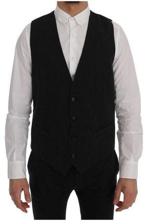 Dolce & Gabbana Staff Cotton Rayon Vest