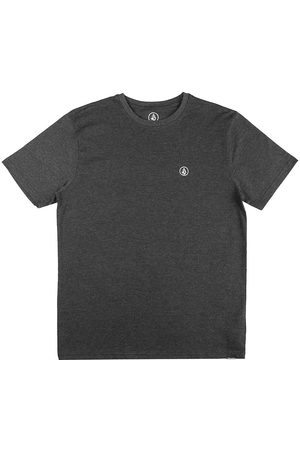 Volcom Circle Blanks Heather T-Shirt heather black