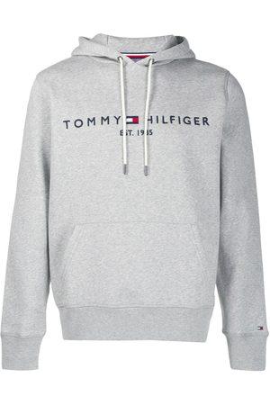 Tommy Hilfiger Man Hoodies - Huvtröja med broderad logotyp
