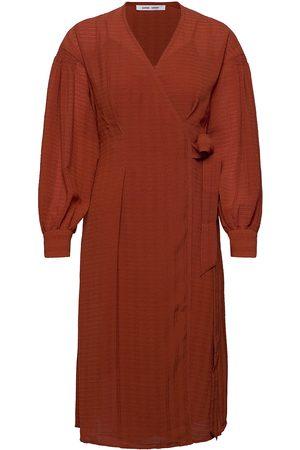 Samsøe Samsøe Kvinna Midiklänningar - Merrill Dress 12697 Knälång Klänning