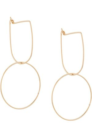 Petite Grand Modernist Hoop earrings