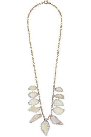 Irene Neuwirth Kvinna Halsband - Diamanthalsband i 18K roséguld med opal