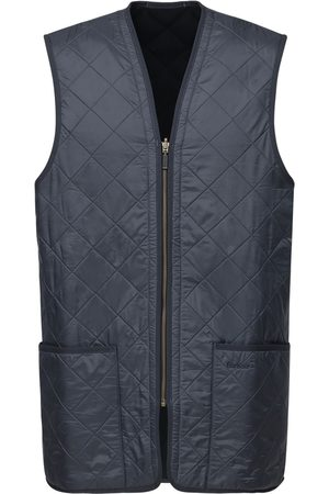 Barbour Quilted Zip Vest