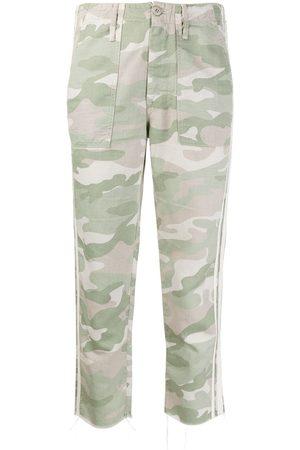 Mother Shaker Chop kamouflagemönstrade jeans