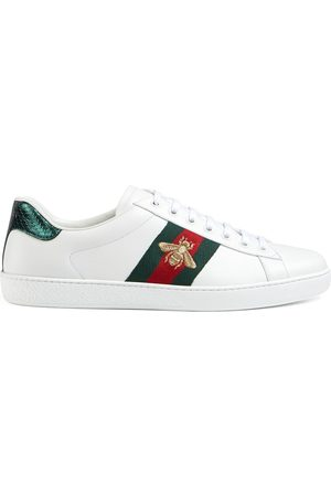 Gucci Man Sneakers - Ace broderade sneakers