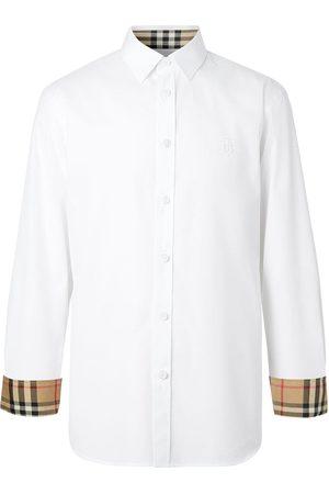Burberry Monogram Motif slim-fit shirt