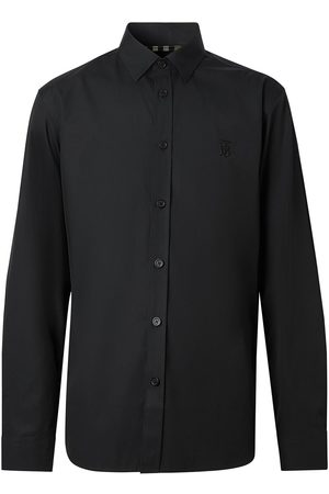 Burberry Monogram embroidered shirt