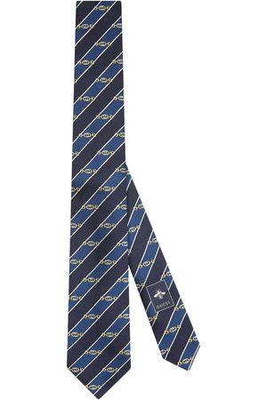 Gucci Interlocking G Horsebit slips i jacquard