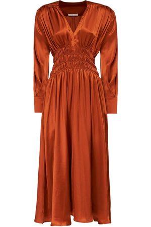 NYNNE Diana Satin Midi Dress