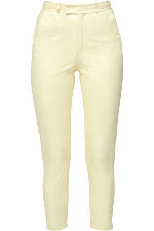 Zeynep Arcay Leather Mom Pants