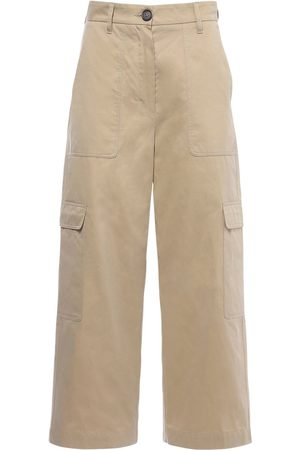 Max Mara Waterproof Cotton Twill Cargo Pants