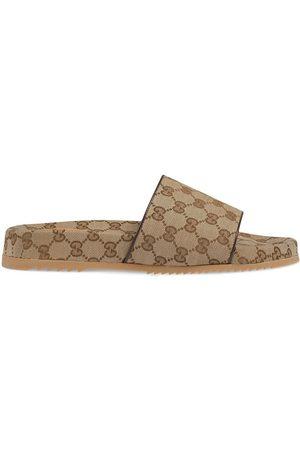 Gucci Man Tofflor - GG Supreme tofflor