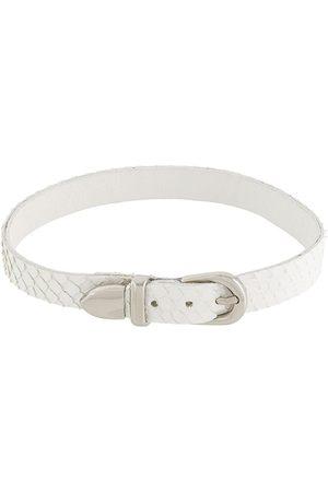 Manokhi Buckled choker necklace