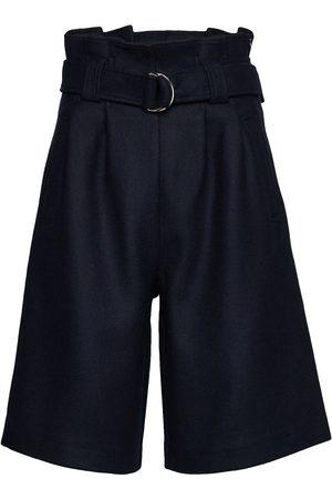 Ganni Kvinna Bermudashorts - Wool Bermudashorts Shorts